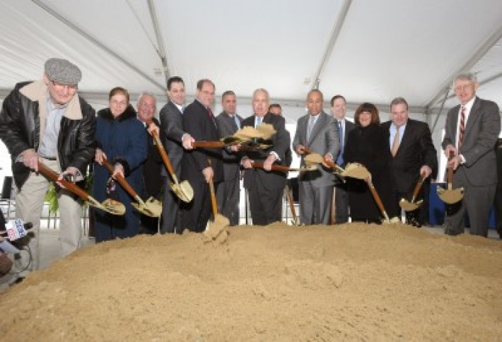 portside groundbreaking