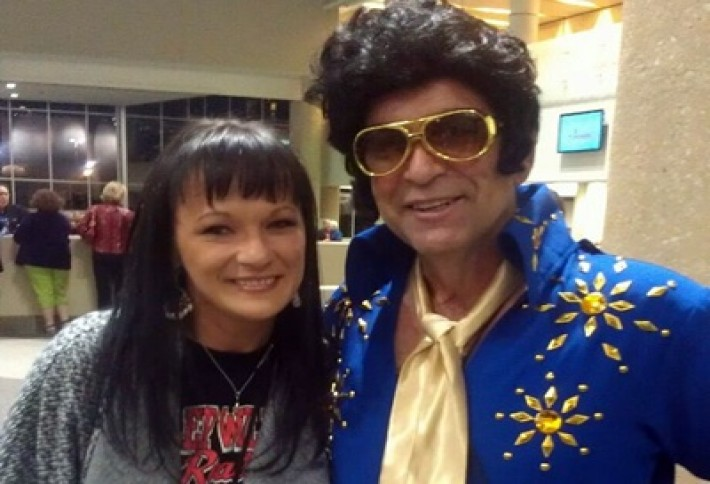 Mica Puryear Meets The King