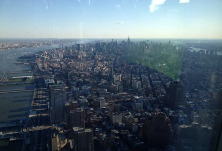 Our View From One World Trade Center