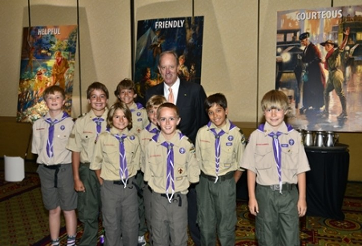 Watty and Scouts Troop 37