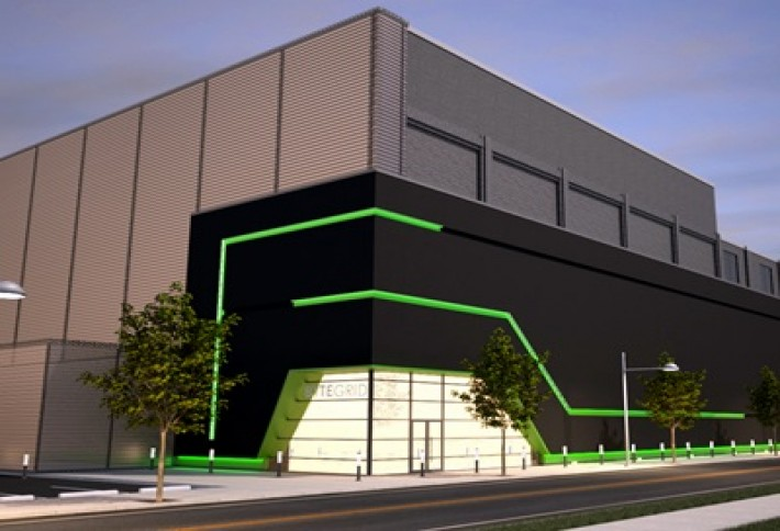 Rendering of BYTEGRID Cleveland (formerly the Cleveland Technology Center)