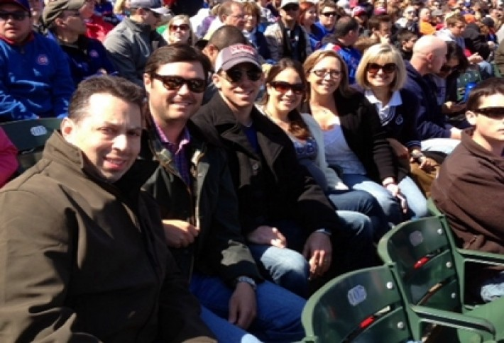 CCIMs in Chicago at Cubs game