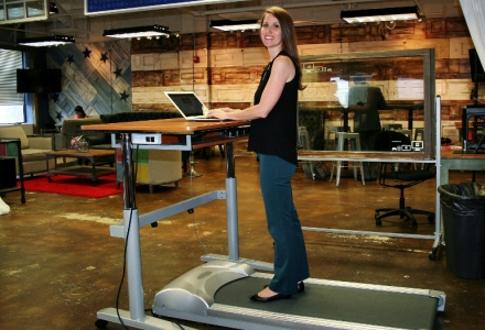 treadmill running how your increase speed on to a