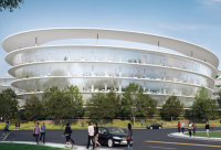 Apple Plans Second Massive Spaceship Campus